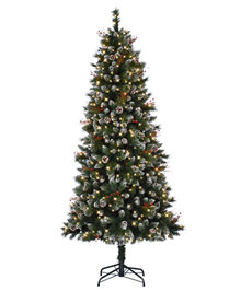 Snow-Kissed Pine Artificial Flocked Christmas Tree