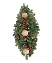 Woodbury Classic Noble Fir Centerpiece