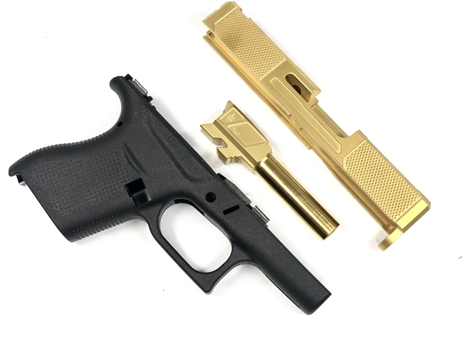 G43 V5 Slide, Barrel & Frame Combo - TiN