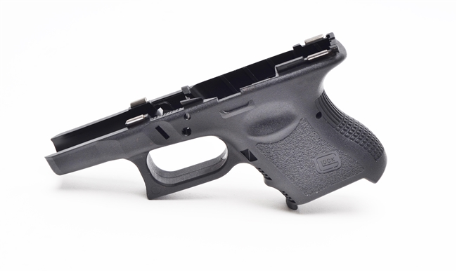 Glock Sub Compact (G26, G27, G33)  Stripped Pistol Frame