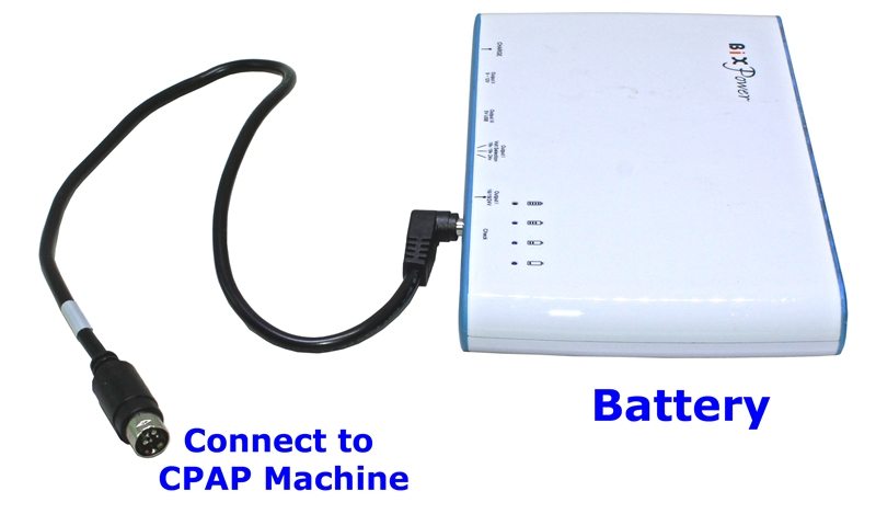 High Capacity ( 96 Wh) Battery Power Pack for ResMed S9 CPAP Machine  CP100-S9