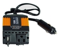 12V (10v ~ 17v) DC to 110V AC 155W  Modified Sine Wave Power Inverter - AM155