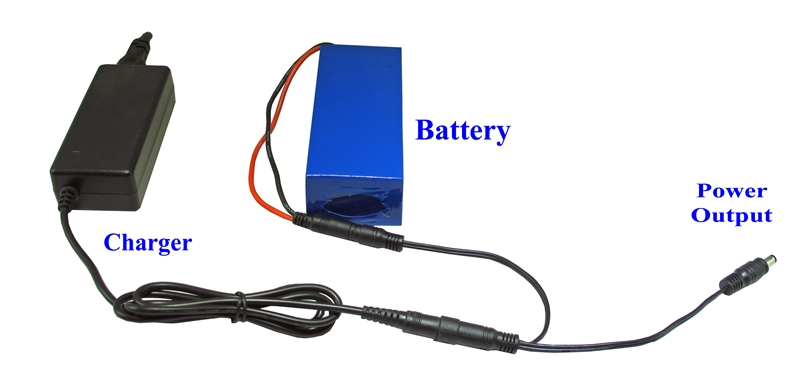 12V High Capacity (99 Wh) Battery Pack with UPS Function - CP100-12V