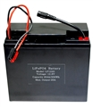 12.8V 20Ah Lithium Iron Phosphate (LiFePO4)  Portable Rechargeable Battery  - LF1220