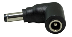 Right Angle Connector Converter for 5.5 x 2.5mm Connector - C23