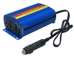150W 12V DC to 110V AC  Pure Sine Wave Fanless Quiet Power Inverter