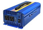 24V (20V ~ 30V)  DC to 110V AC  1000W True Pure Sine Wave Power Inverter -