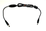 12V 16V 19V 24V DC ( Range 9V ~ 25V)  to 5V DC Power Converter Cable