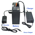 Super High Capacity (576 Watt-hour) Multi Output Voltages ( 12V/15V/16V/18V/19V/20V/24V ) Battery Pack - UPS600