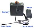 24V Super High Capacity (576 Watt-hour)  Battery with UPS  (Uninterrupted Power Supply)  Function - HL2417B-UPS