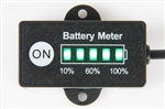 24V Lithium ion Battery Fuel Gauge Power Level LED Indicator