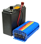 XP600 AC Power Pack -576 Watt-hour  Battery with 110V 300W Pure Sine AC Inverter