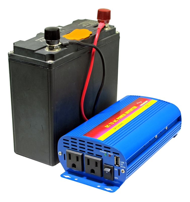 576 Watt-hour Battery with 110V 300W Pure Sine AC Inverter on boost converter, programmable logic controller, buck converter, uninterruptible power supply, grid-tie inverter, switched-mode power supply, variable-frequency drive, voltage converter, induction motor, solar inverter, circuit breaker, synchronous motor, dc motor, electric motor, air conditioning,