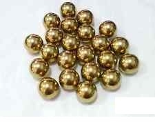 "1/16"" inch Diameter G200 Loose Solid Bronze/Brass Bearing Balls - Pack of 100"