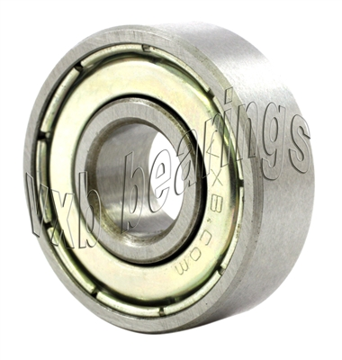 "1/4"" x 1/2"" x 1/8"" inch Stainless Steel Shielded Miniature Bearing"