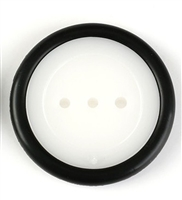 1.95mm Plastic Robot Rubber Chassis Wheel for Toy Cars