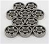 2x5 Open 2x5x2.5 Miniature Bearing Pack of 10