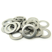 Pack of 10 pcs 3mm x 7mm Steel Thrust Bearing Washer 3x7x0.75mm