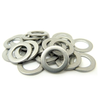 Pack of 10 pcs 5mm x 10mm Steel Thrust Bearing Washer 5x10x0.60mm