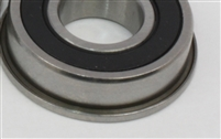 "FR3-2RS Flanged Bearing Sealed 3/16""x1/2""x0.197"" inch Bearings"