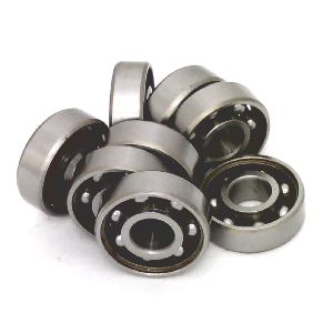 16 inline/Rollerblade/Skate Bearing Chrome Steel Open Ball bearing with Nylon Cage