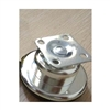 "2.5"" Inch  Flat Metal  Caster Wheel Bearing with Chrome  plating with 75lb Load Rating"