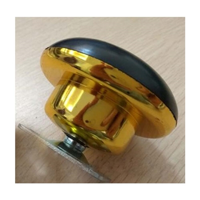 2.5  Inch  Flat Metal  Caster Wheel Bearing with Gold  plating with 75lb Load Rating