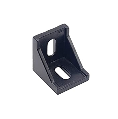 2020 Corner Bracket Black Aluminum for Extrusion Profile V-Slot