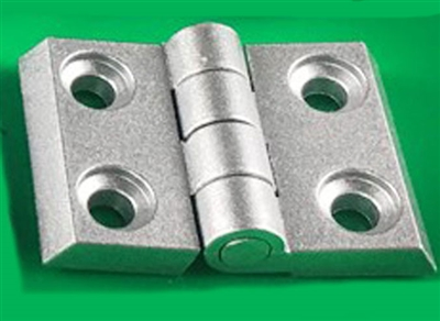 2020 Aluminum  Accessory Silver Hinge for Extrusion Profile