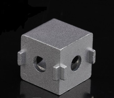 2020 Aluminum Extrusion Profile Solid Cube Corner Connector