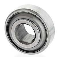 "207KPP3 Single Lip Shroud Seals 1.25"" Inner Diameter Bearings"