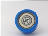 Flat Nylon ball Bearing with 22mm Blue Plastic Tire for sliding doors and windows