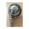 "2""  inch Shepherd Round ball Metal Tread with Chrome Plating Caster"