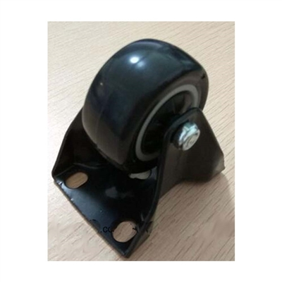 "2""Inch Heavy Duty Black Rigid Caster with 220 lbs Load Rating"