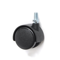 30mm Caster Wheel 55 pounds Swivel Nylon