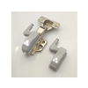 "1 3/8"" Inch Stainless Steel  Smooth Hydraulic Hinge with light"