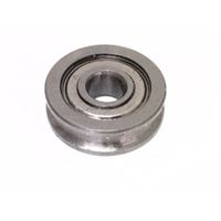 4mm Bore Bearing with 13mm Round Shielded  Pulley U Groove Track Roller Bearing 4x13x4mm