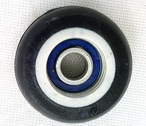 5mm Bore Bearing with 23mm Plastic Tire