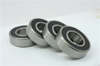 6003-2RS Bearing 17x35x10 Sealed Ball Bearing Dual Sided Rubber Sealed Deep Groove (4PCS)