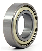 6007ZZC3 Metal Shielded Bearing with C3 Clearance 35x62x14