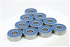 608-2RS Ball Bearing with Blue Seals Pack of 100