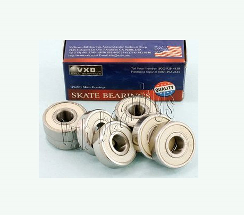 Skate Bearing 608-2RS 8 x 22 x 7 Ceramic mm Metric VXB