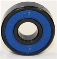 608B-2RS Sealed Black Bearing with Bronze Cage and Blue Seals 8x22x7mm