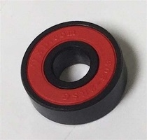 608B-2RS Sealed Black Bearing with Bronze Cage and red Seals 8x22x7mm