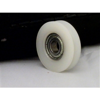 6mm Bore Bearing with 21mm Round Nylon Pulley U Groove Track Roller Bearing