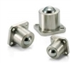 NBK Made in Japan BRDSF-50 Flange Type Ball Transfer Unit for Downward and Sideward Facing Applications