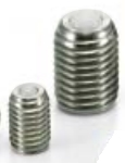 NBK Made in Japan BRUSS-10-N Set Screw Type Ball Transfer Unit for Upward Facing Applications