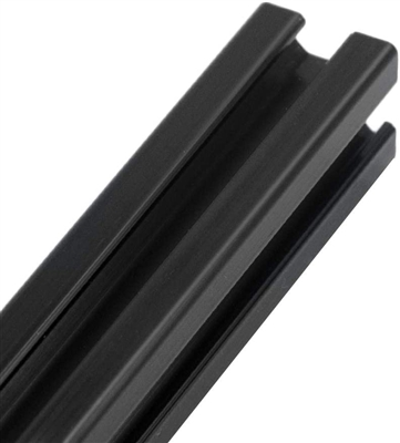 "20MM Black Aluminum Profile Extrusion Linear Rail 1000mm (39"" Inch) length"