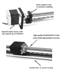 1.9' Feet Actuator NEMA 23 CNC Ballscrew Linear Motion Slide Rail Table with a Motor