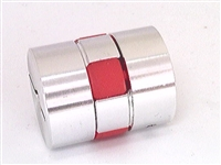 D20-L25 3mm to 5mm Jaw type Flexible Coupling